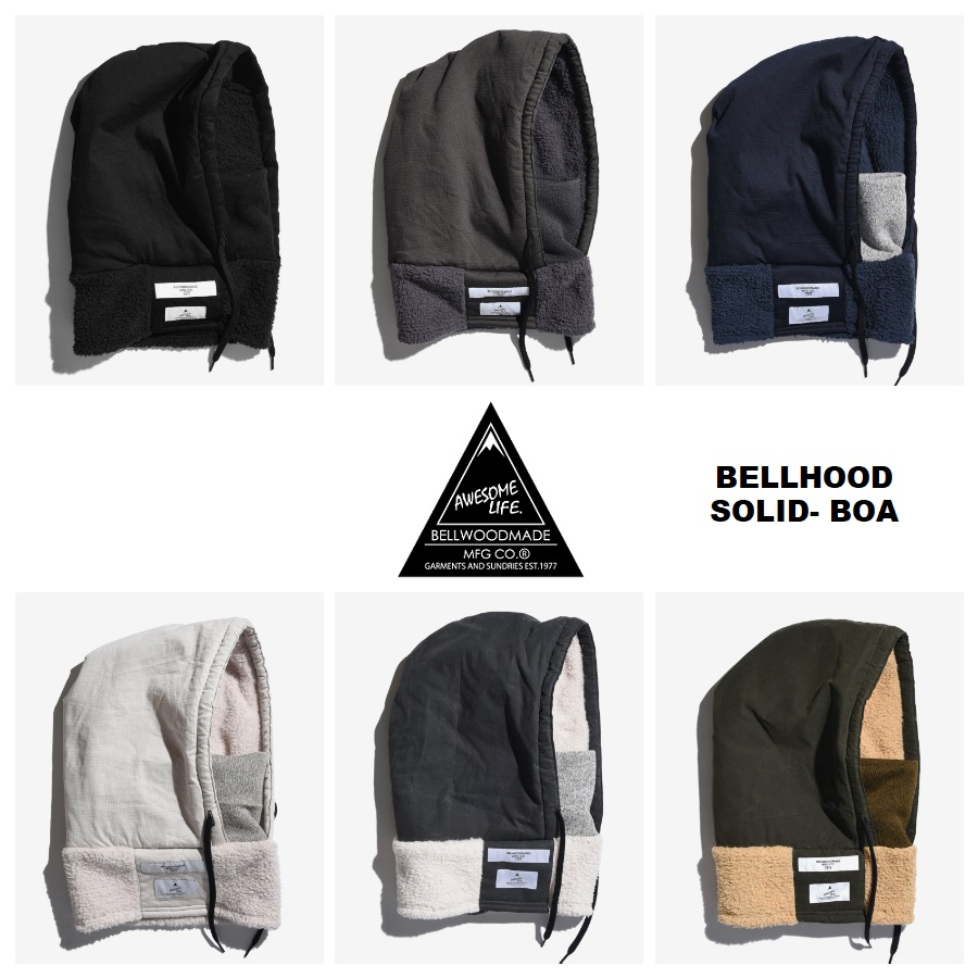 BELLWOOD MADE_商品01_BELLHOOD SOLID BOA