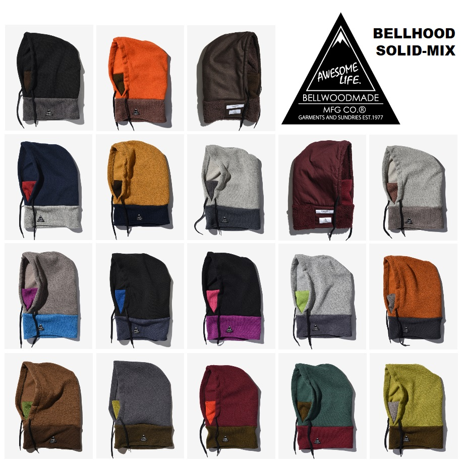BELLWOOD MADE_商品03_BELLHOOD SOLID MIX